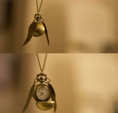 jewels harry potter necklace clock
