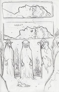 Comic pencils by Stefan Tosheff