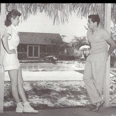 Lucy and Desi! They look like teenagers in this photo