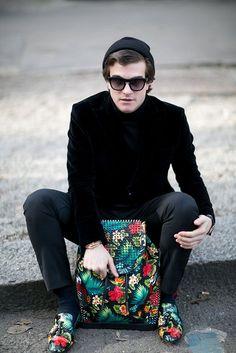 Street Style: Milan Men's Fashion Week Fall 2016 - theFashionSpot