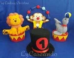 Resultado de imagen para festa circo centro de mesa