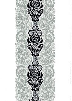 Ananas print by Maija & Kristina Isola for Marimekko makes a beautiful tablecloth