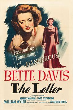 La Carta (The Letter), de William Wyler, 1940