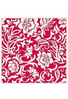 Red & White Hawaiian Pareo Design Gift Wrap Paper 2 Rolls