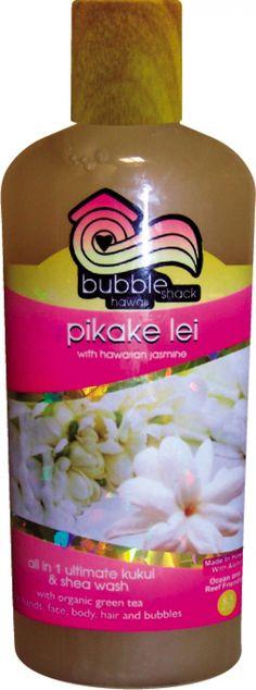 Pikake Lei All in1 Ultimate Kukui + Shea Wash - All in 1 Ultimate Kukui + Shea Washes - CLEANSE - SHOP