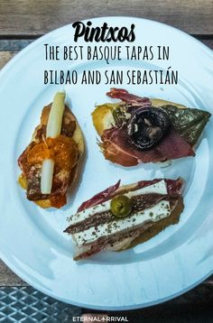 Basque Country is home to the pintxo, a spin on the Spanish tapa. Usually, this involves fresh local ingredients arranged on bread, but the only limit to pintxos are the chef's imagination and the idea that you should be able to eat one with a drink in your other hand!