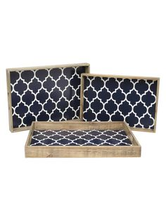 Trays (Set of 3) by Three Hands at Gilt