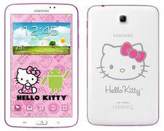 Samsung Galaxy Tab 3 versión Hello Kitty pronto