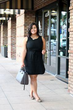 little black dress curvy fat plus size summer