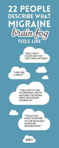 22 People Describe What Brain Fog Feels Like