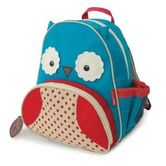 Amazon.com: Skip Hop Zoo Pack Little Kid Backpack, Owl: Baby