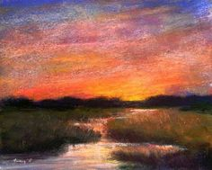 The Poetry of the Earth by Tammy Kaufman Soft Pastel ~ 5 x 6