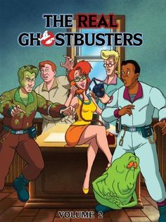 The Real Ghostbusters, Volume 2 Classic Cartoon Characters, Cartoon Tv Shows, Classic Cartoons, Die Geisterjäger, The Real Ghostbusters, Ghostbusters 1984, 80 Cartoons, Ghost Busters, Mundo Comic