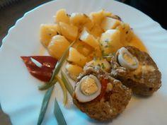 Druh receptu: Jedlá s mäsom - Page 11 of 56 - Mňamky-Recepty. Types Of Food, Potato Salad, Potatoes, Eggs, Meat, Chicken, Breakfast, Ethnic Recipes, Morning Coffee