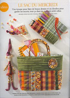 Marie Claire Patchwork bag by ketutar, via Flickr