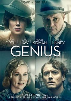 Nicole Kidman and Colin Firth star in this stirring drama about the friendship between Thomas Wolfe and editor Maxwell Perkins (who discovered F. Scott Fitzgerald and Ernest Hemingway). Movie To Watch List, Tv Series To Watch, Good Movies To Watch, Movie List, Films Netflix, Good Movies On Netflix, New Movies, Prime Movies, Film Movie