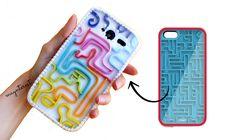 DIY Coque de téléphone - Labyrinthe Jeu rétro