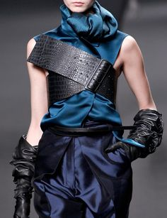 Fashion & Lifestyle: Haider Ackermann Belts Fall 2011