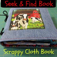 Seek & Find or I Spy Cloth Book TUTORIAL ~Joy's Jots, Shots & Whatnots