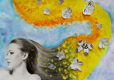 JARNÍ PROMĚNA ÚČESU, 7. ročník, 2/2018 Mandala, Painting, Art, Art Background, Painting Art, Kunst, Paintings, Performing Arts, Painted Canvas