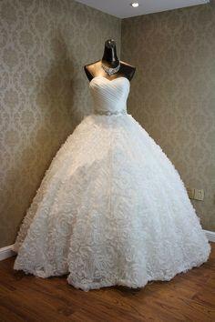 Bianca - Bridal Dress Wedding Gown Marriage Matrimony Wedlock $300 via @Shopseen