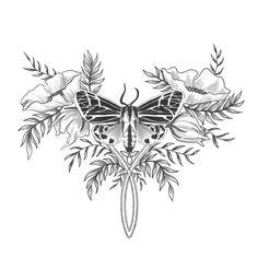 audrey dowling illustration Vine Tattoos, Lotus Flower, Vines, Illustration, Flowers, Illustrations, Arbors, Royal Icing Flowers, Lotus Flowers
