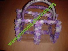 Plastica trasparente - cotone multicolore