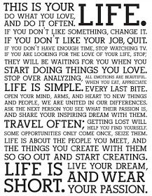 """Long Life Quotes And Sayings Biography Source(google.com.pk) """"This life is what you make it. Not matter what, you're going to mess up ..."""