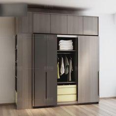 Wardrobe Designs For Bedroom, Wardrobe Cabinet Bedroom, Wall Wardrobe Design, Sliding Door Wardrobe Designs, Small Room Design Bedroom, Bedroom Designs Images, Wardrobe Room, Bedroom Cupboard Designs, Wardrobe Furniture