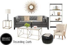 Decorating Cents: Sexy Glam Polyvore Contest