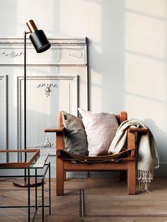 The Spanish Chair by Børge Mogensen from Fredericia Furniture   Hitta hem: Linum 2016
