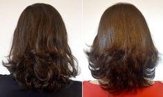 Corte de cabelo medio repicado em camadas