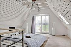 peinture chambre en total look blanc