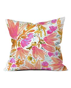 You need to see this Joy Laforme Orange Blossom In Pink Throw Pillow on Rue La La.  Get in and shop (quickly!): https://www.ruelala.com/boutique/product/101828/32554591?inv=sgdamico&aid=6191