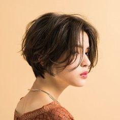 Asian Short Hair, Girl Short Hair, Short Hair Cuts, Tomboy Long Hair, Japanese Short Hair, Tomboy Hairstyles, Cool Hairstyles, Ulzzang Hairstyle, Cut My Hair