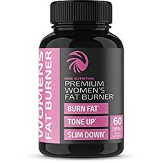 Nobi Nutrition Premium Fat Burner for Women - Thermogenic Supplement, Carbohydrate Blocker, Metabolism Booster an Appetite Suppressant - Healthier Weight Loss - Energy Pills - 60 Capsules Best Diet Pills, Diet Pills That Work, Best Weight Loss Pills, Weight Loss Meals, Best Fat Burner Pills, Fat Burner Supplements, Weight Loss Supplements, Smothie, Carb Blocker