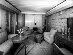 SS Normandie Cabins   Queen Mary: August 2010