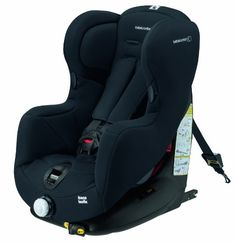 Bébé Confort Iseos IsoFix - Silla de coche grupo 1, desde 9 hasta 18 kg, instalación IsoFix, color negro