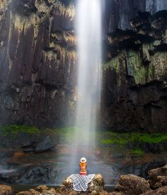 The view from the base of Minyon Falls, Byron Bay