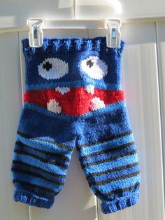 Monster Pants Newborn Monster Pants Knit Pants by RhondasReborns