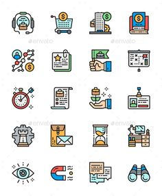 Buy Set Of Business Strategy Color Line Icons. Pack Of Pixel Icons by studicon on GraphicRiver. Hello, Attached ZIP folder contains: Line icons px Best Icons, Icon Design, Design Art, Thank You For Purchasing, Color Lines, Icon Pack, Line Icon, Icon Set, Packing