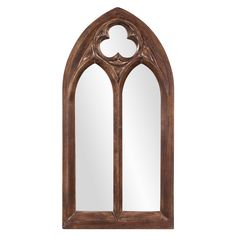 Basilica Tuscan Brown Mirror Howard Elliott Collection Rectangle Mirrors Home Decor