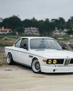 BMW E9 3.0 CSi white