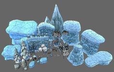 Stylized assets to create your own fantasy winter or ruins environment!    Videos:   Video walkthrough  Video walkthrough 2   Web demo:   Web demo   Features:   Compatible with unity terrain tools.  Includes an example scene to get you started:  _Models range from 40 to 2200 triangles.  _Trees, plants, grass, flowers models.  _Ruins, statues, walls, fences, flags, gate models.  _Rocks, cliffs, iceberg, mountain models.  _Particle effects, Snow fall and blizzard