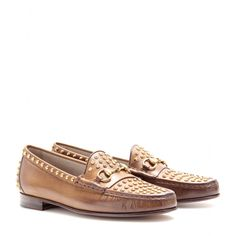 mytheresa.com - MOCCASIN 1953 STUDDED LEATHER LOAFERS - Loafers & Moccasins - Shoes - Luxury Fashion for Women / Designer clothing, shoes, b...
