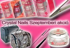 Megérkezett a Crystal Nails Szeptemberi akciója!  Részletekért kattints a linkre!  http://mukoromplaza.com/Mukorom-Outlet-Extra-Akcios-Mukorom-Termekek/Crystal-Nails-Szeptemberi-akcio