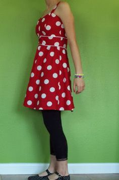 Red Polka dot babydoll dress *NOW WITH TUTE!!* - CLOTHING