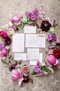 Whimsical Outdoor Spring Wedding Ideas via OnceWed.com