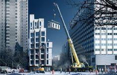 New York City's First Modular, Micro-Unit Development  EcoBuilding Pulse Magazine   Modular Building, Design, Design Workflow, Prefab Design