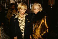 francoise Sagan and Jeanne Moreau